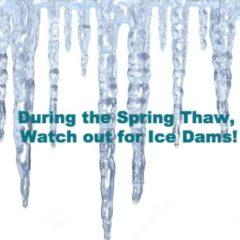 Winter Ice Damming